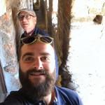 Alberto scatta un selfi